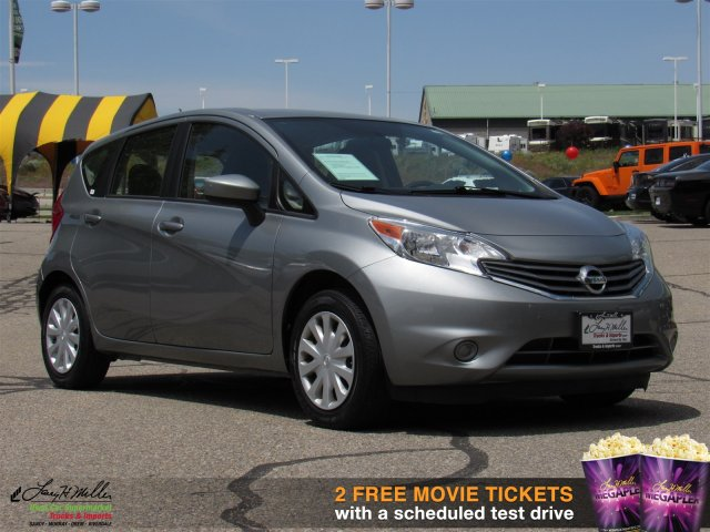pre owned 2015 nissan versa note hatchback in riverdale. Black Bedroom Furniture Sets. Home Design Ideas